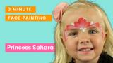 Face Paint Tutorial Princess Tiara 3 Minute Design