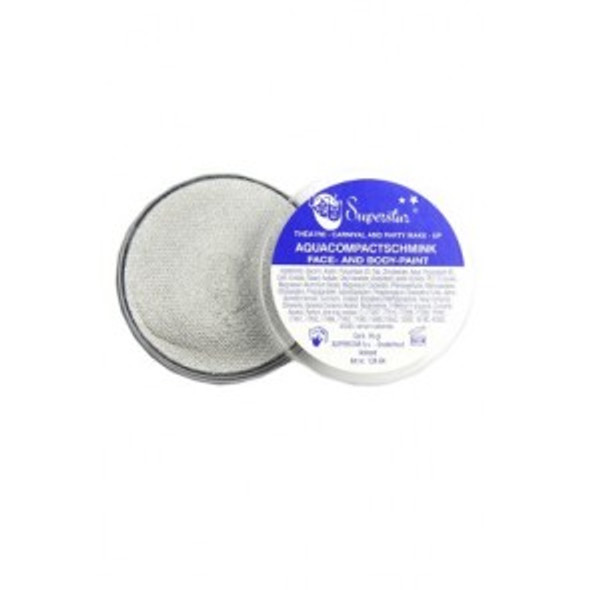 16g SUPERSTAR FACE PAINT SILVER SHIMMER 056