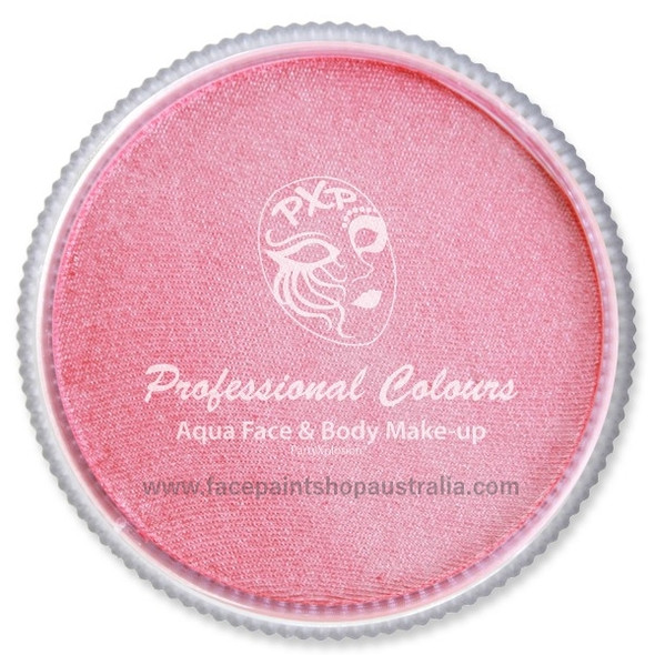 party xplosion  face paint fuchsia pearl