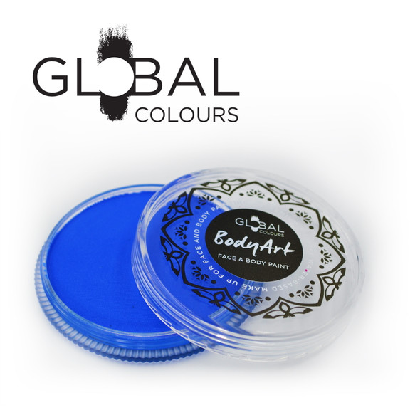 Fresh Blue Face and Body Paint Makeup by Global Colours 32g