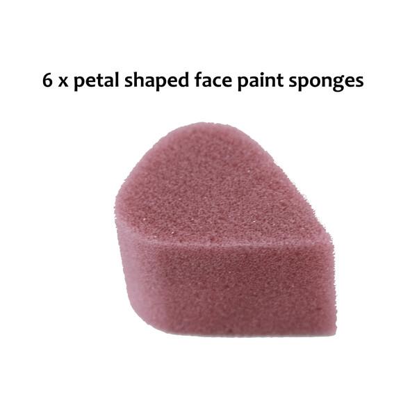 petal face paint sponge Australia