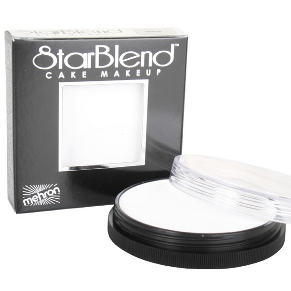 WHITE Starblend Powder by Mehron Cake Makeup 56g