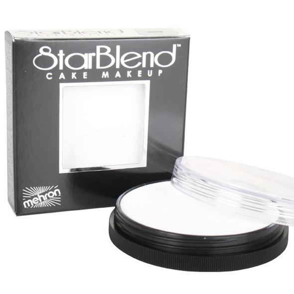 WHITE Starblend Powder by Mehron Cake Makeup 56g