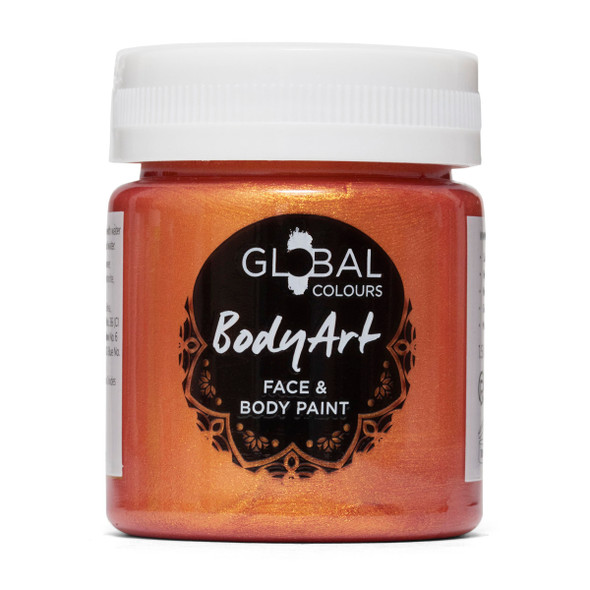 COPPER Face and Body Paint Liquid) by Global Colours