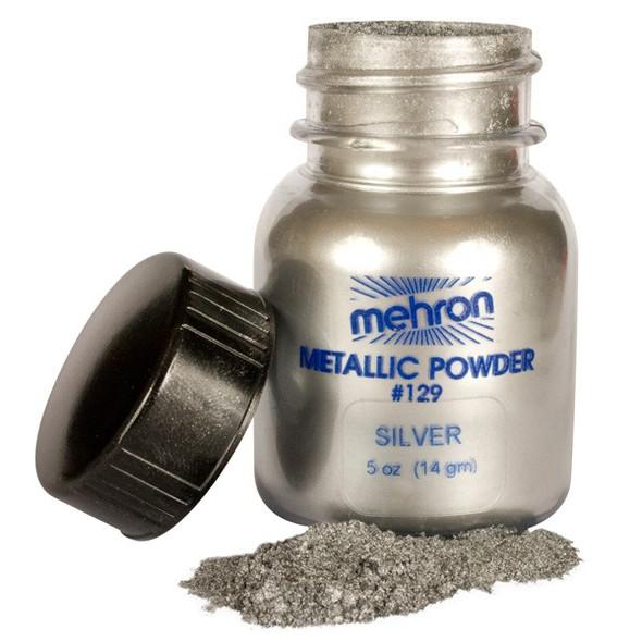 Mehron Metallic Powder SILVER 14g
