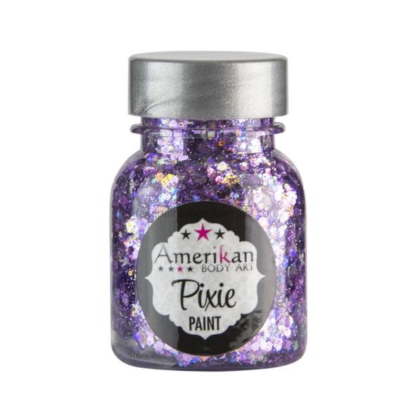 'Purple Rain' Pixie Paint Glitter Gel by Amerikan Body Art