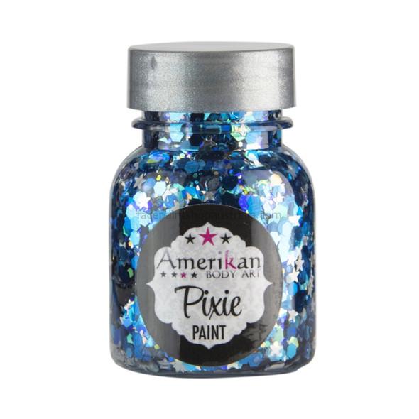 'Midnight Blue' Pixie Paint Glitter Gel by Amerikan Body Art