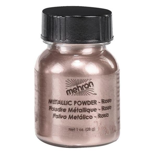 Mehron Metallic Powder 28g ROSE