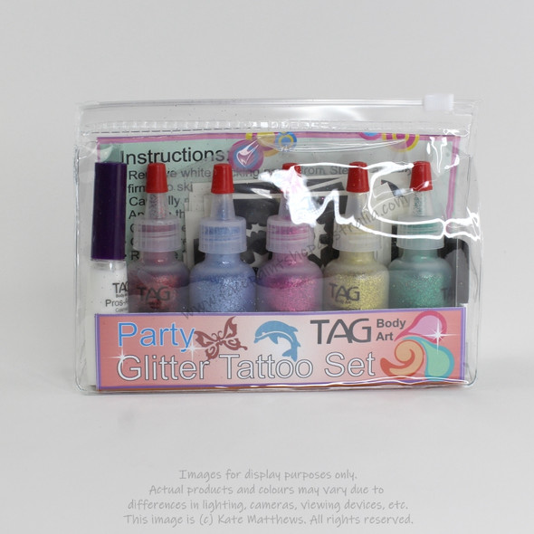 Glitter Tattoo Party Kit