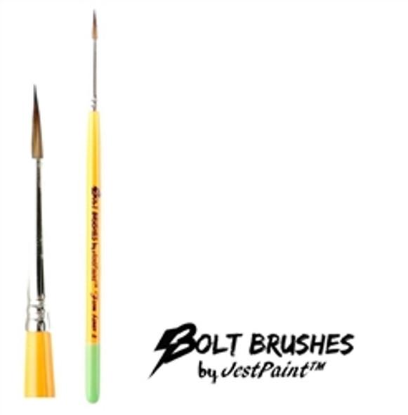 LINER BRUSH SIZE 2 FIRM Face Paint Brush BOLT
