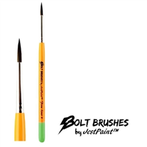 LINER BRUSH SIZE 4 FIRM Face Paint Brush BOLT