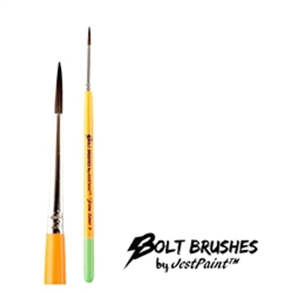 LINER BRUSH SIZE 3 FIRM Face Paint Brush BOLT