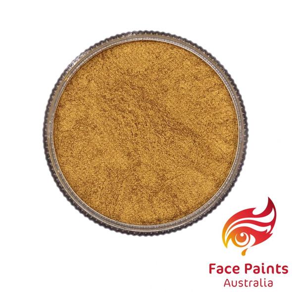 Face Paints Australia Metallix Gold