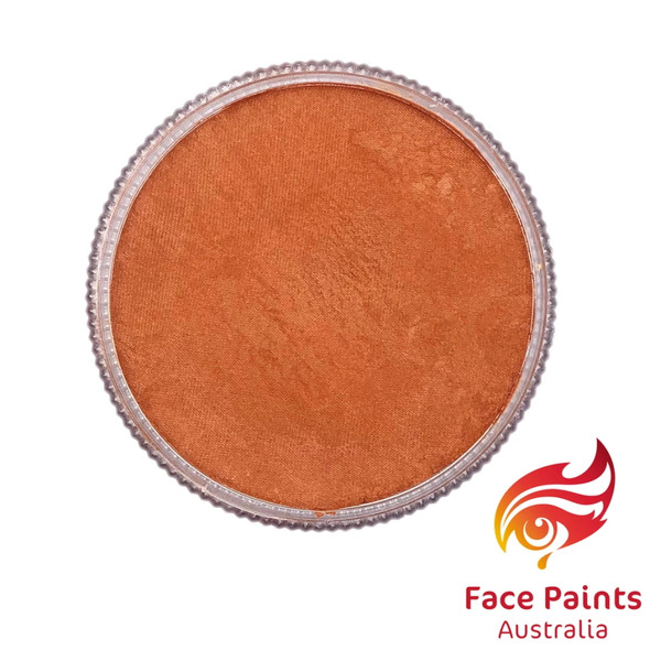 Face Paints Australia Metallix Orange