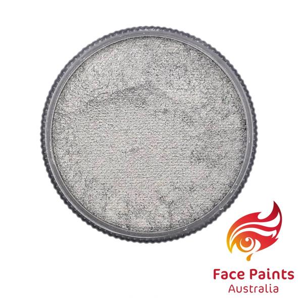 Face Paints Australia Metallix Silver