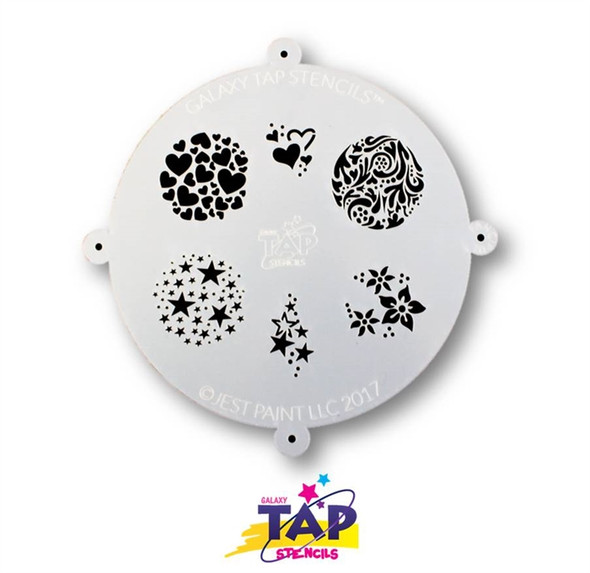 FANCIFUL - Galaxy TAP Face Painting Stencil