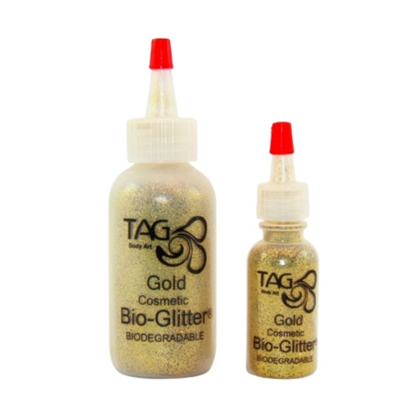 bio glitter cosmetic gold