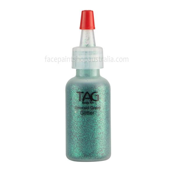EMERALD GREEN Cosmetic Glitter by Tag Body Art