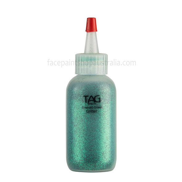 EMERALD GREEN Cosmetic Glitter by Tag Body Art