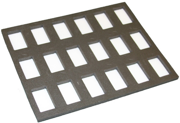 Foam insert for 18x onestroke fits TAG palette case