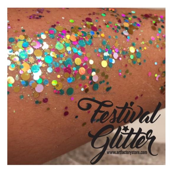 'UNICORN POP' Festival Glitter by the Art Factory