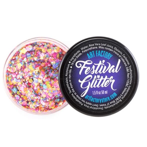 RAVE Festival Glitter by the Art Factory