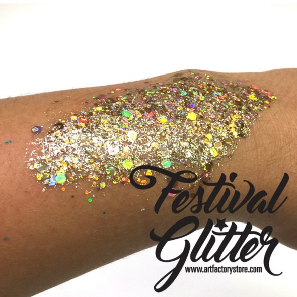 GOLD DIGGER Festival Glitter by the Art Factory