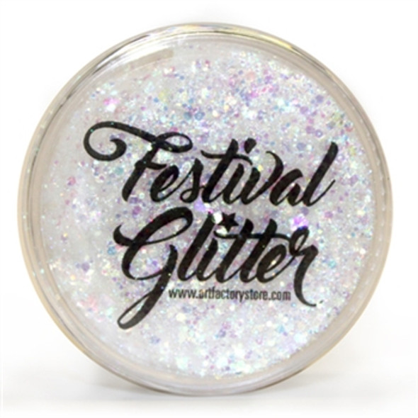 'SNOWFLAKE' Festival Glitter by the Art Factory