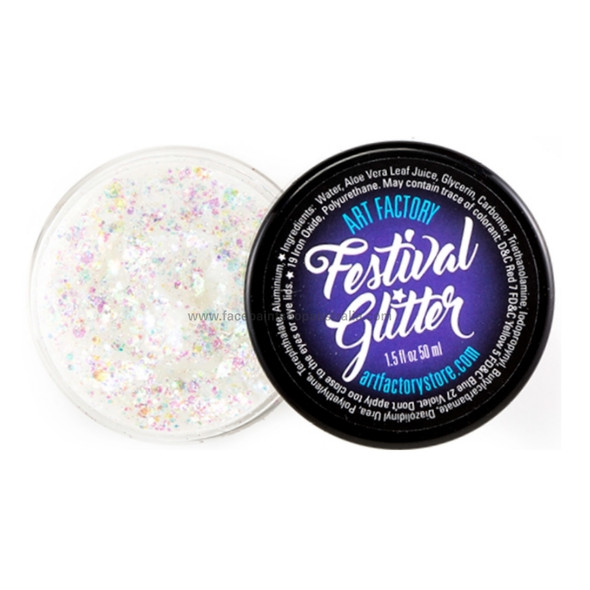SNOWFLAKE Festival Glitter by the Art Factory
