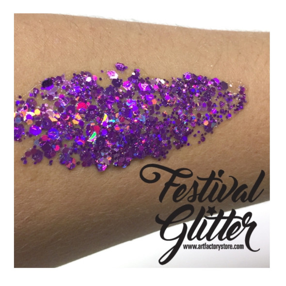 'FIERCE' Festival Glitter by the Art Factory