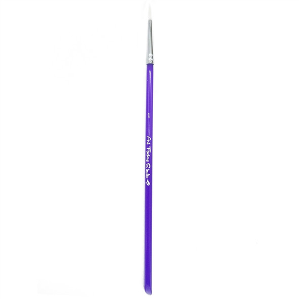 ROUND BRUSH SIZE 1 - Acrylic Handle by Art Factory
