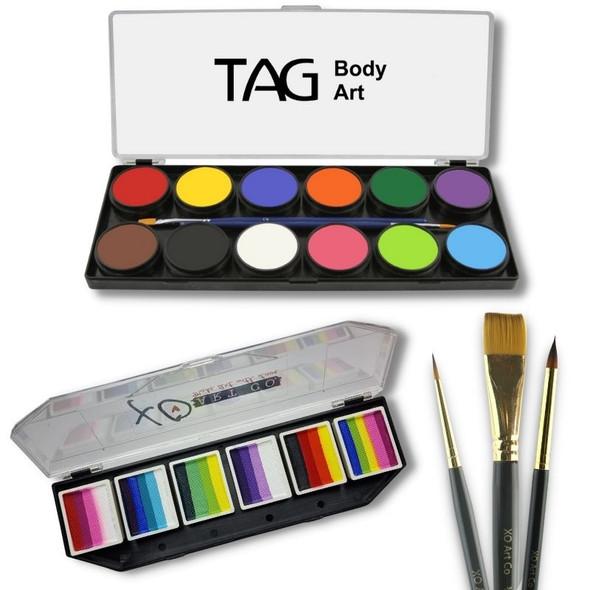 At Home Face Paint Kit v2