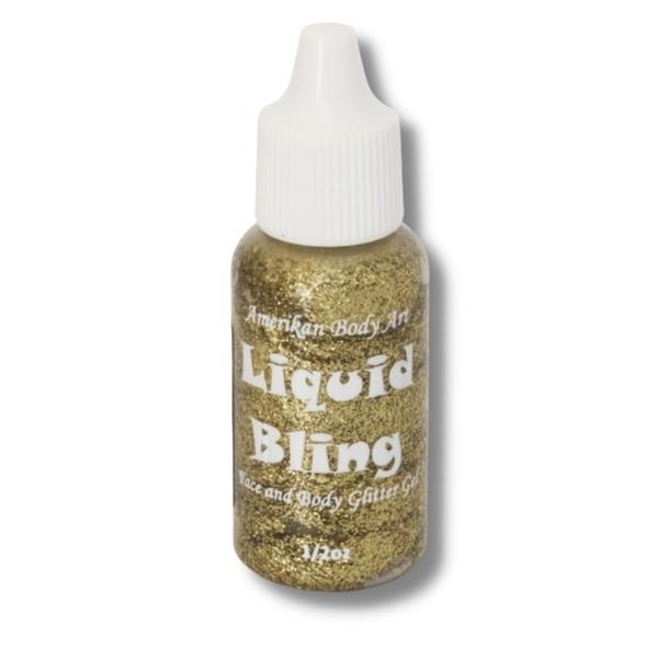 Liquid Bling Glitter  Amerikan Body Art Gold