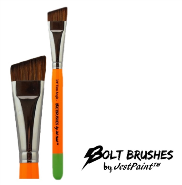 ANGLE BRUSH 3/4 INCH FIRM - BOLT by Jest Paint