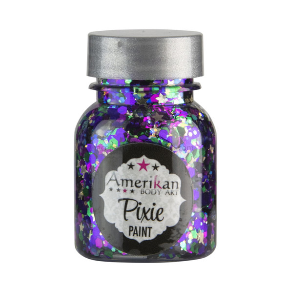 'MARDI GRAS' Pixie Paint Glitter Gel by Amerikan Body Art