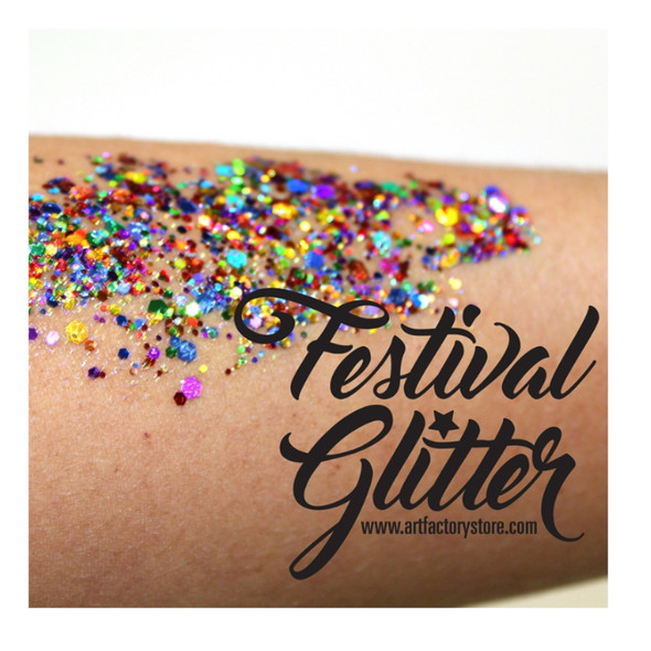 'PRIDE' Festival Glitter by the Art Factory