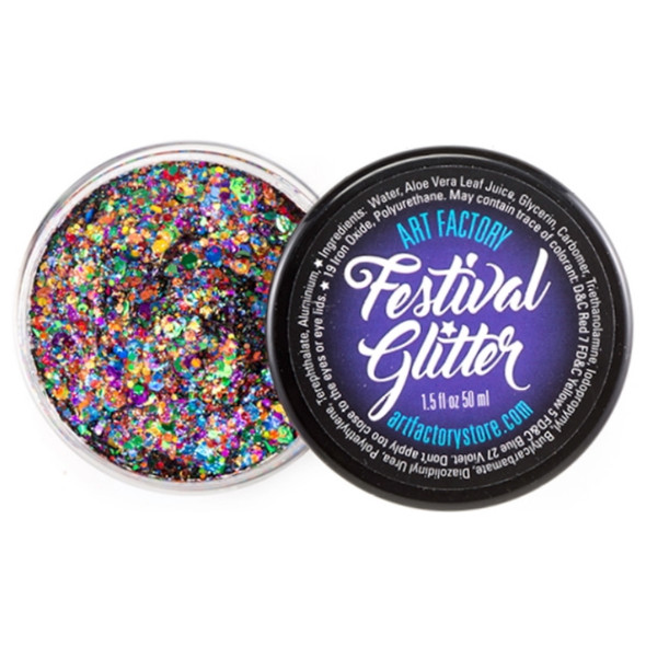 RAINBOW PRIDE Festival Glitter by the Art Factory
