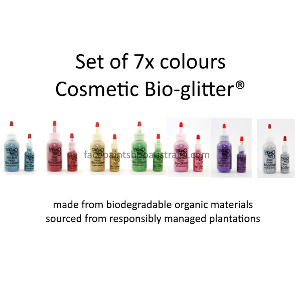 eco friendly bio glitter for cosmetic use