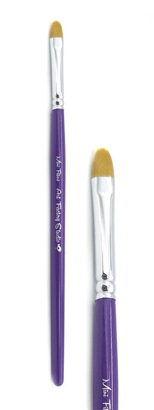 MINI FILBERT BRUSH - Art Factory face paint brushes