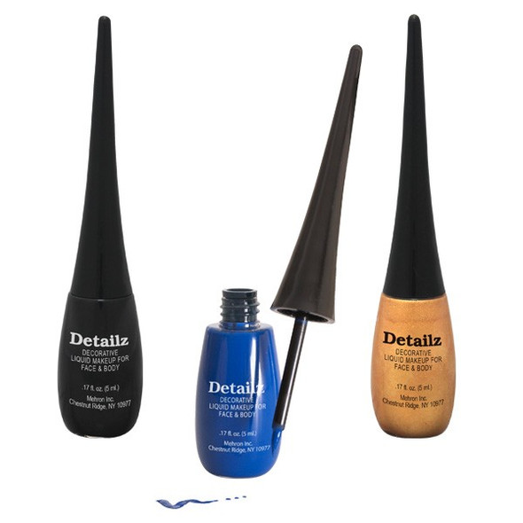 Black Detailz™ Liquid Make-Up by Mehron 5ml