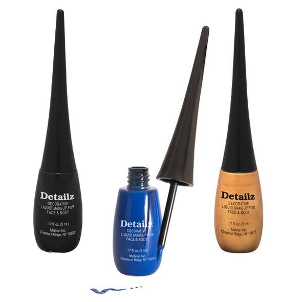 Black Detailz™ Liquid Make-Up by Mehron 5ml