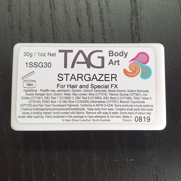 STARGAZER one stroke split cakes 30g by TAG Body Art