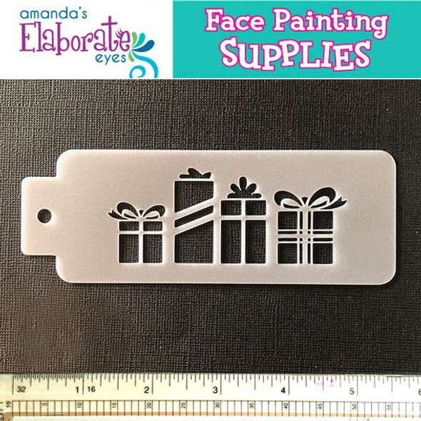 Christmas Gifts - Reusable Face and Body Art Stencil 20054