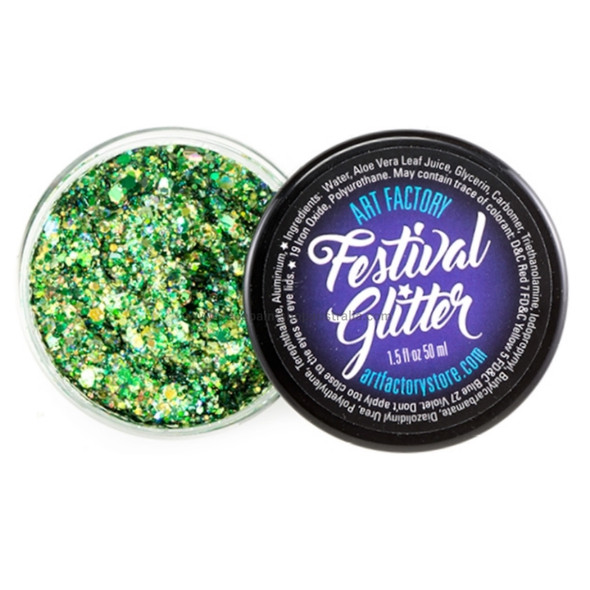 DRAGON SCALES GREEN - Festival Glitter by the Art Factory