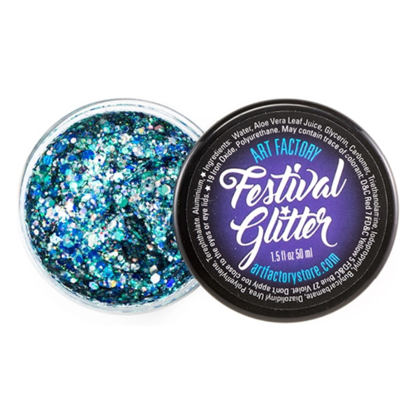 FROST blue Festival Glitter by the Art Factory
