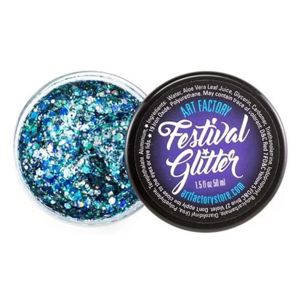 FROST blue Festival Glitter by the Art Factory