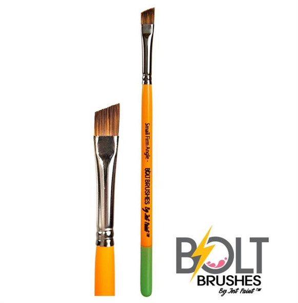 ANGLE BRUSH 1/4 INCH SHORT SMALL FIRM - BOLT by Jest Paint