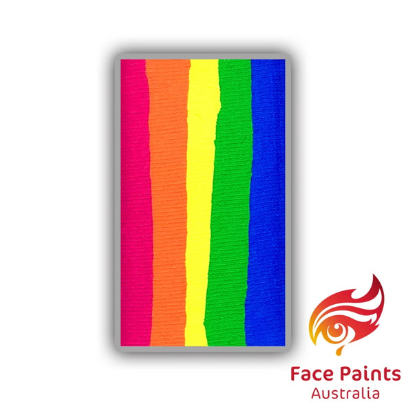 PERSIMMON (UV) brush combo cake 30g by Face Paints Australia
