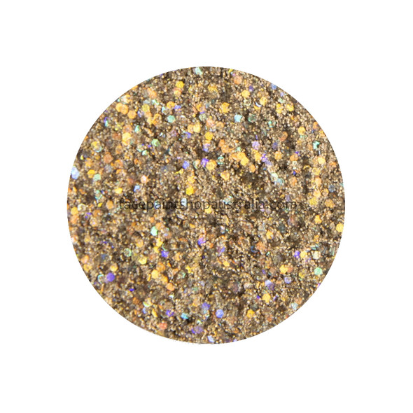 Stardust Gold Glitter Creme by Amerikan Body Art