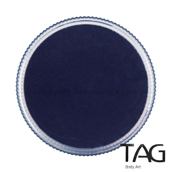 DARK BLUE Face and Body Paint 32g by TAG Body Art